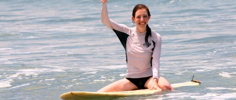 Surfer Girl Montezuma