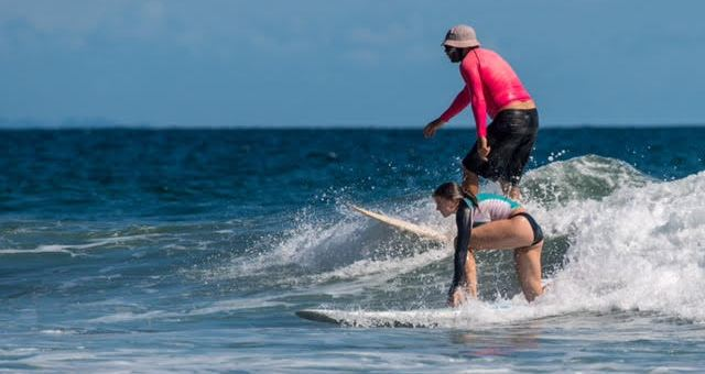 Family surf vacations Costa Rica