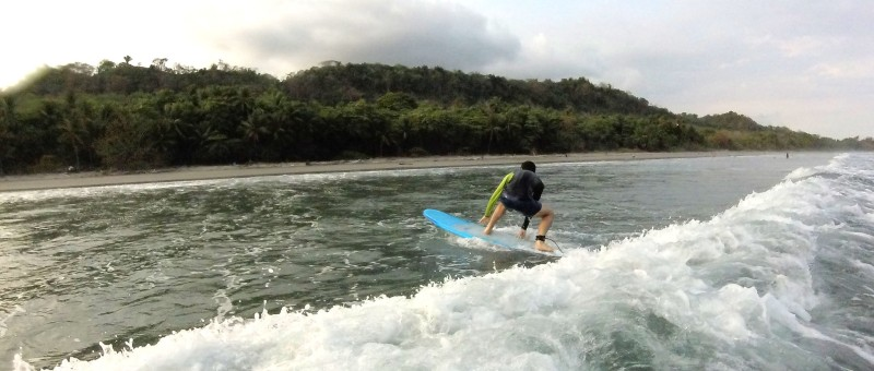 Surfing Costa Rica in July